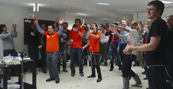 Image - Participants enjoying GovHack