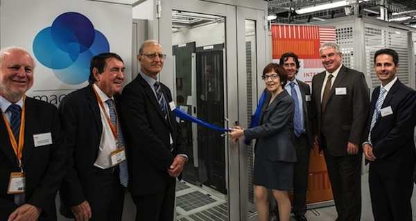 Image - NSW Chief Scientist & Engineer Professor Mary O'Kane cuts the ribbon