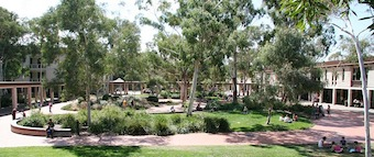 Image - University of Canberra concourse