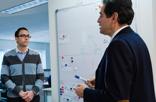 Image - Intersect developers Andrey Chernyshov and Carlos Aya